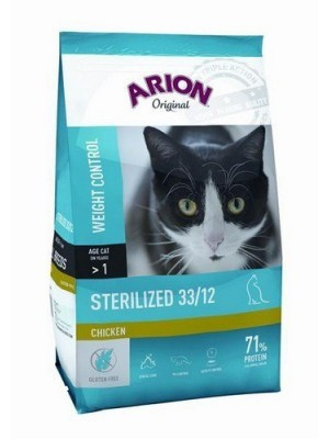 ARION Original Sterilized 7.5kg suva hrana za sterilisane mačke